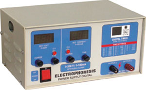 Electrophoresis Power Supply, Digital Variables